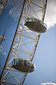 'London Eye ferris wheel; London, England'