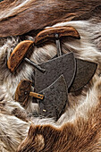 Ulu's, The Traditional Knife Of The Inuit, Churchill, Manitoba.