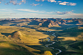 'The wild and scenic Charley River, in the Yukon Charley Rivers National Preserve; Alaska, United States of America'