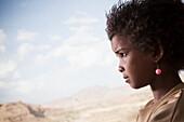 'Portrait of a young girl; Gheralta plateau, Tigray region, Ethiopia'