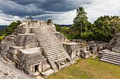 'Ancient Mayan ruins of Caracol; Belize'
