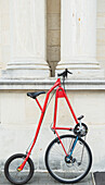 'Steampunk bike; Oamaru, South Island, New Zealand'
