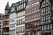 'A series of tudor building fronts; Frankfurt am Main, Germany'