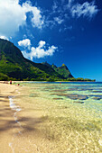 'Tunnels Beach; Kauai, Hawaii, United States of America'