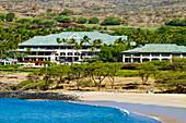 Hawaii, Lanai, Four Seasons Resort at Manele Bay. EDITORIAL USE ONLY.