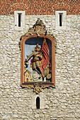 'St. Florian's Gate, Old Town Centre; Krakow, Poland'