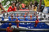 'Foosball (table football) table; Ethiopia'