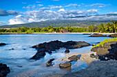 'Honokohau Bay, Kaloko-Honokohau National Historic Park; Big Island, Hawaii, United States of America'