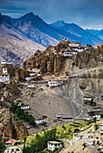 'Dhankar Gompa and village; Spiti Valley, India'
