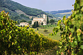 'Saint Antimo's Abbey; Castelnuovo dell'Abate, Tuscany, Italy'