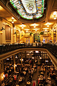 'Confeitaria Colombo cafe-restaurant in downtown district; Rio de Janeiro, Brazil'