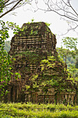 'My Son Sanctuary, the remains of the kingdom of Champa, now a UNESCO World Heritage site, near Hoi An; Vietnam'
