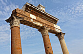 'Ancient Roman ruins; Pompei, Italy'