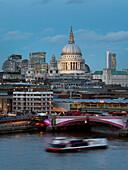 'St. Paul's Cathedral and Blackfriars; London, England'