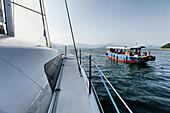 The MC60 Catamaran is a semi custom high performance luxury catamaran that will set new standards of speed, luxury and elegance.