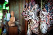 Dragon traditional statue. Bali, Indonesia