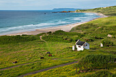 'Cottage at White Bay; County Antrim, Northern Ireland'
