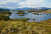 'Landscape on the Isle of Harris; Outer Hebrides, Western Isles, Scotland'