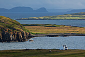 'Cottage near Kilmauag at North coast of Der; Isle of Skye, Hebrides, Scotland'
