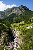 'Hoehenbachtal, near Holzgau; Tirol, Austria'