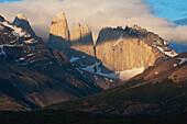 'Torres Del Paine, Torres del Paine National Park; Chile'