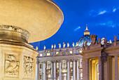 'St. Peter's Square; Rome, Lazio, Italy'