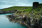 'Galley Head Lighthouse in West Cork on the Wild Atlantic Way coastal route; County Cork, Ireland'