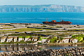 'Shipwreck on Inisheer; Aran Islands, County Galway, Ireland'