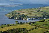 'Coastal village of Cushendun; County Antrim, Ireland'