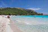 Beach, Cala Agulla, Cala Ratjada, Majorca (Mallorca), Balearic Islands, Spain, Mediterranean, Europe