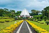 The Bahai House of Worship Samoa, Upolu, Samoa, South Pacific, Pacific
