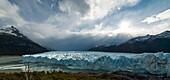 Afternoon light on the Perito Moreno Glacier, Los Glaciares National Park, UNESCO World Heritage Site, Patagonia, Argentina, South America
