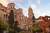 Santa Iglesia Catedral Basílica de la Encarnación, Kathedrale von Malaga, Provinz Malaga, Andalusien, Spanien, Europa