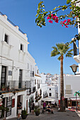 White village in the historical town of, Vejer de la Frontera, Costa de la Luz, Cadiz Province, Andalusia, Spain, Europe