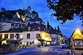 Beynac-et-Cazenac in the Dordogne valley, Perigord, Dordogne, Aquitaine, West-France, France