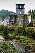 Ruins of All Saints' Abbey, Kloster Allerheiligen, Oppenau, Schwarzwaldhochstrasse, Black Forest, Baden-Wuerttemberg, Germany