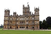 Highclere Castle, Downton Abbey, Newbury, West Berkshire, England, Großbritannien