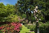 INTERNATIONAL ROSE TEST GARDEN WASHINGTON PARK PORTLAND OREGON USA