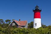 USA, Massachusetts, Cape Cod, Eastham, Nauset Light, lighthouse.