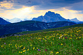Croda Rossa, Dolomiten, Südtirol, Italien