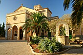 Parish Church of Our Lady of Atocha XVI century Ariany Mallorca Illes Balears Es Pla Spain.