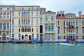 Venice (Italy). Palaces on the Grand Canal in Venice.