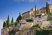 The mediaeval town of Vaison-la-Romaine in the Vaucluse, France, Europe