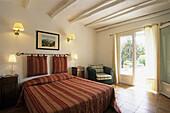 Castel Brando boutique hotel at Erbalunga, commune of Brando, Cap Corse, Haute-Corse, Northern Corsica, France, Europe.