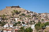 volissos village, island of chios, north east aegean sea, greece, europe