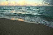 Beach Surf and Horizon