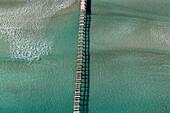 Wharf in Alcudia, Alcudia Beach, Mallorca, Balearic Island, Spain.