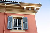 Villefrance-sur-Mer, touristic village in Cote d'Azur, France.
