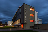 Bauhaus Dessau, Dessau-Roßlau, Saxony-Anhalt, Germany