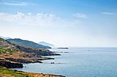 The sea near Alghero, Sassari province, Sardinia, Italy